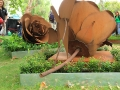 corten_edging_and_statues_melbourne_flower_show_2013_10 - garden edging | Metal Garden Edging | lawn edging | landscape edging |  garden design