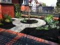 courtyard_garden_makeover_with_formboss_metal_garden_edging_6 - garden edging | Metal Garden Edging | lawn edging | landscape edging |  garden design
