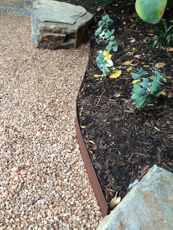 Gary - garden edging   Metal Garden Edging   lawn edging   landscape edging    garden design