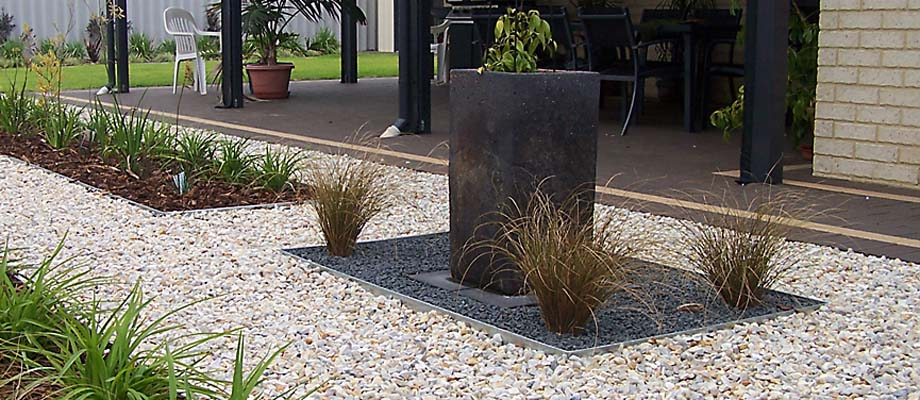 Steel edging is the most common metal edging, although you might not find it at local nurseries. Order it directly, which is where most pros get it.